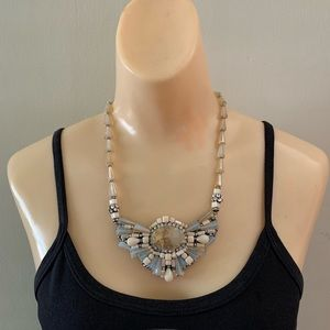 Rush by Denis & Charles Rhinestone/Beaded Necklace